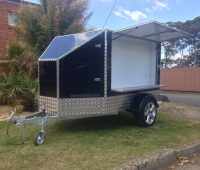 Aluminium Composite Enclosed Trailer