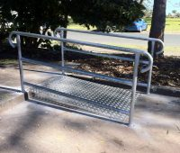 Disabled Access Ramp & Rails