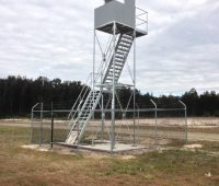 Galvanized Viewing Tower