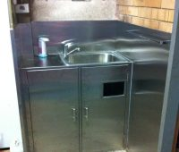 Stainless Washbay